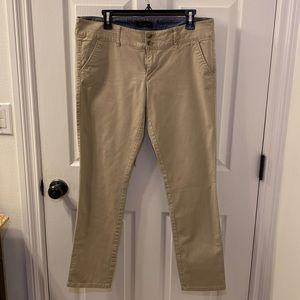 American Eagle Khaki Pants / Stretch / Straight